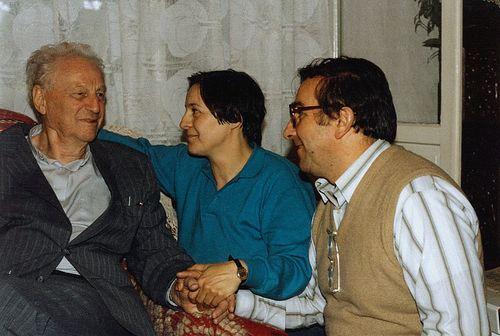 Richard with Ioana's parents