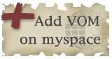 Add VOM on myspace
